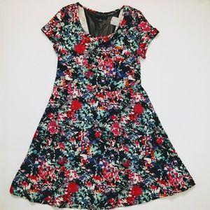 🆕 Forever 21 PLUS 1X print skater dress